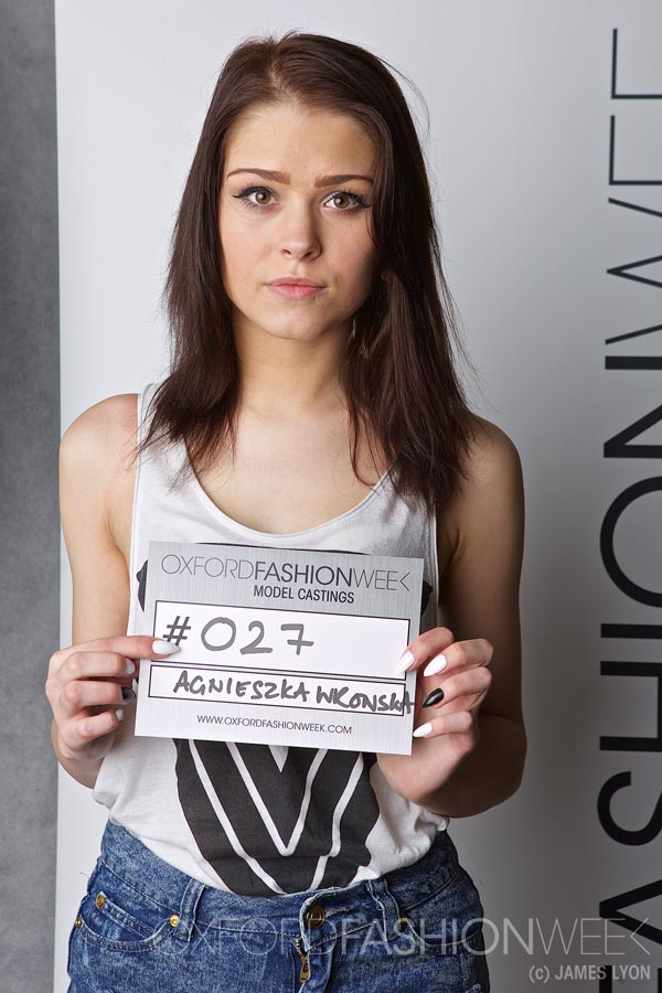 Casting images for Oxford Fashion Week 2015 - Lyon Photography